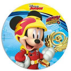 Disque en sucre Mickey™ 16 cm Déco festive 231011