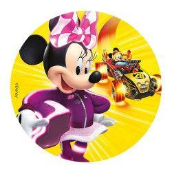 Disque en sucre Minnie™ 16 cm Déco festive 231019