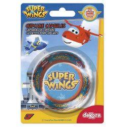 Caissettes à cupcakes Super Wings™ x 50 Cake Design 339246