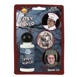 Maquillage latex blanc Accessoires de fête 15555