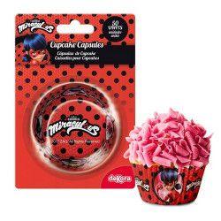 Déco festive, Caissettes à cupcakes LadyBug™ x 50, 339248, 2,50€