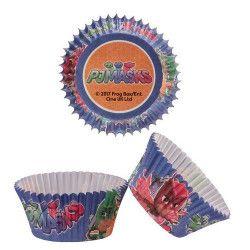 Caissettes à cupcakes Pyjamasques™ x 50 Cake Design 339250