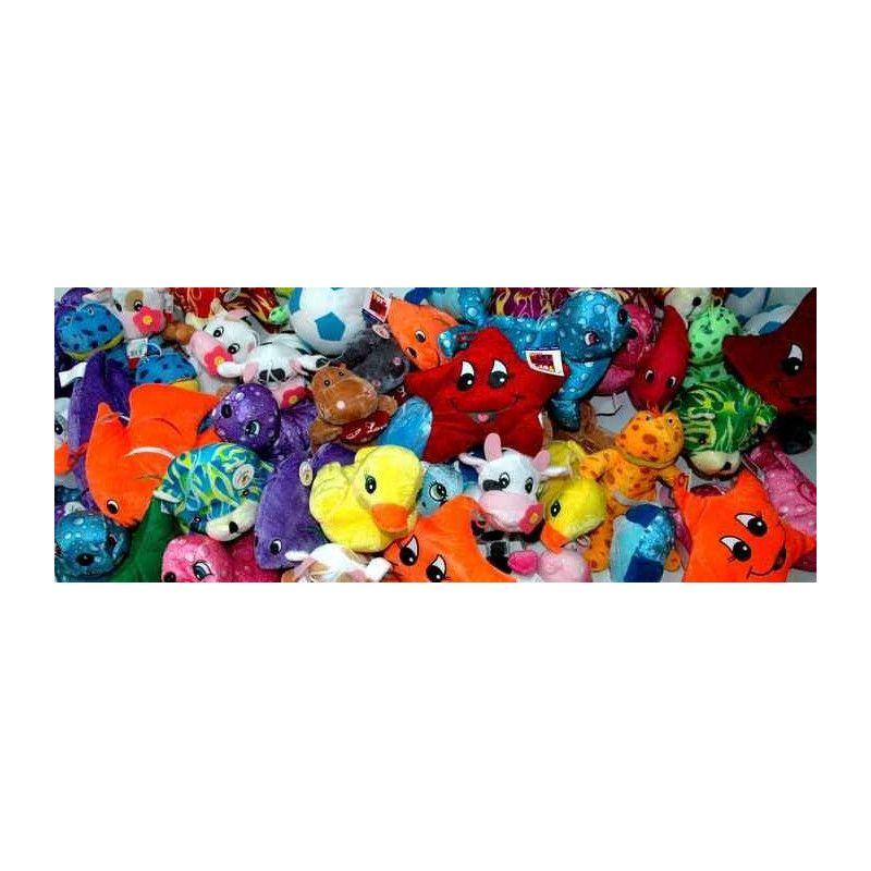 Jouets et kermesse, Lot 100 peluches gamme variée, LOT-3, 120,00€