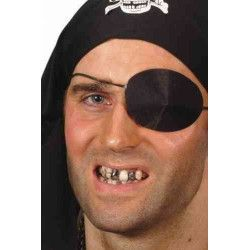 Accessoires de fête, Pâte dents noires, 15557, 1,70€