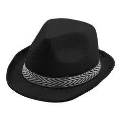 Chapeau borsalino noir Accessoires de fête 87337