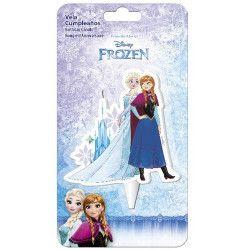 Bougie anniversaire Elsa et Anna Frozen™ Confiserie 346184