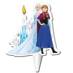 Déco festive, Bougie anniversaire Elsa et Anna Frozen™, 346184, 3,90€