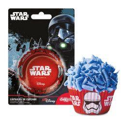 Déco festive, Caissettes à cupcakes Starwars™ x 50, 339235, 2,50€