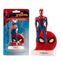 Déco festive, Bougie anniversaire Spiderman™ 3d, 346205, 3,90€
