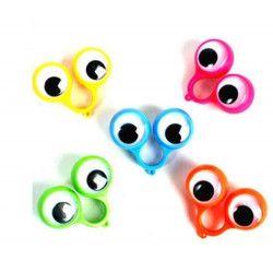 Bague gros yeux 5.5 cm kermesse vendue par 48 Jouets et kermesse 11430-LOT