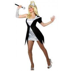 Déguisement chanteuse Pop femme taille M-L Déguisements 15578