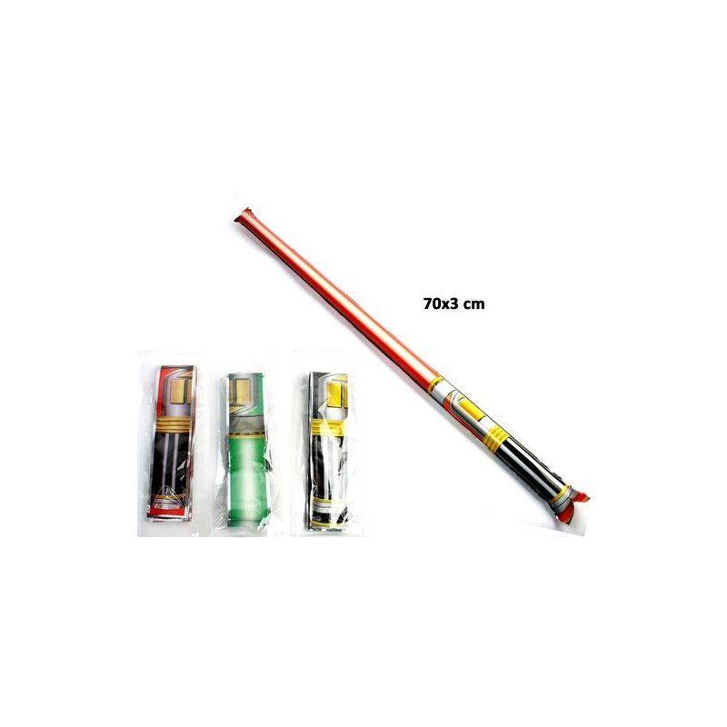 Epée auto gonflante 70 cm vendue par 48 Jouets et kermesse 27530-LOT