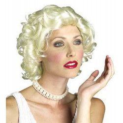 Perruque blonde Star Accessoires de fête CLOWN70121