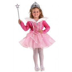 Déguisements, Déguisement princesse rose enfant 2 ans, CLOWN96602, 34,50€