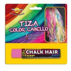 Accessoires de fête, Craie couleur cheveux roses, 15609, 1,99€