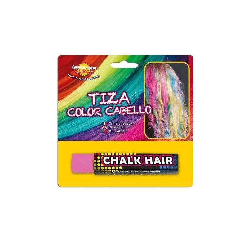 Craie couleur cheveux roses Accessoires de fête 15609
