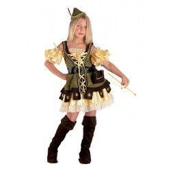 Déguisements, Déguisement archer des bois fille 10 ans, 22010CLOWN, 29,95€