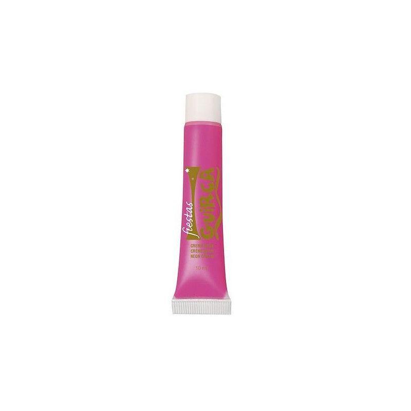 Tube maquillage rose néon 10 ml Accessoires de fête 15663GUIRCA
