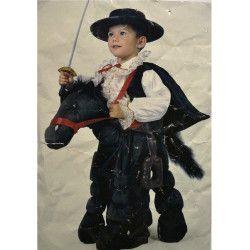 Déguisements, Déguisement cavalier masqué enfant, 58144, 34,90€