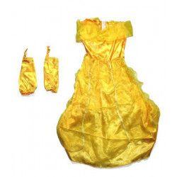 Déguisement de princesse jaune enfant Déguisements AL003114