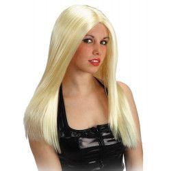 Accessoires de fête, Perruque blonde et longue super girl, 02561, 15,90€