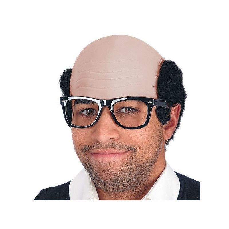 Perruque de chauve dégarni Accessoires de fête 05177