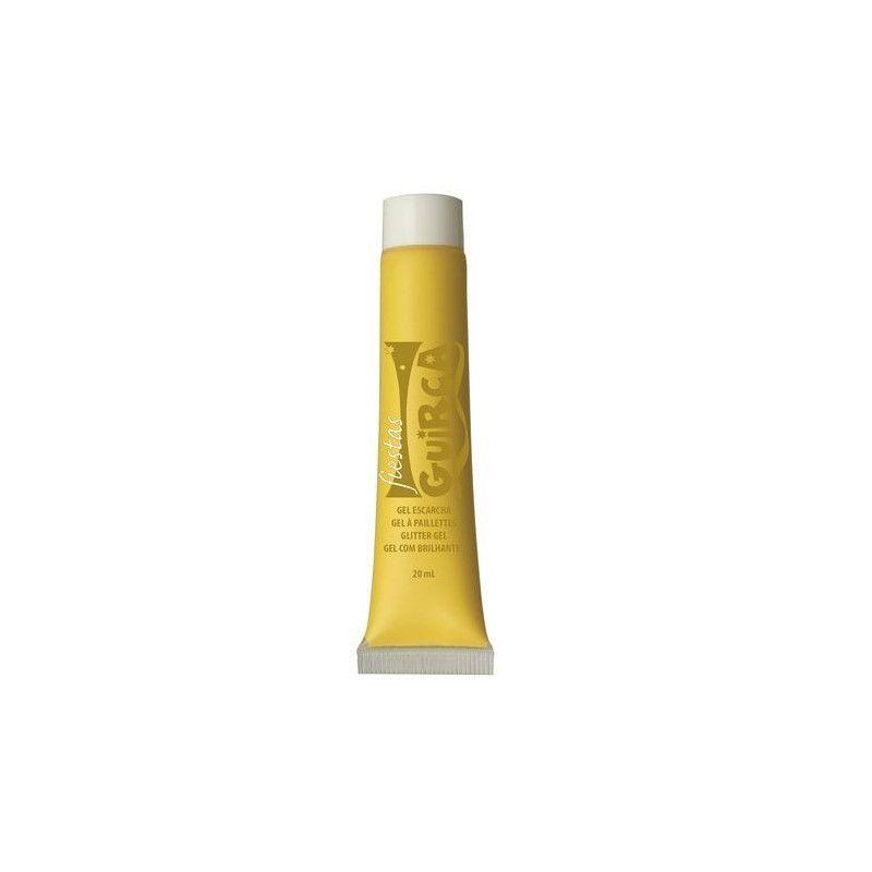 Maquillage gel jaune Accessoires de fête 15674GUIRCA