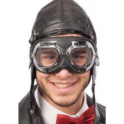 Lunettes motard ou aviateur adulte Accessoires de fête 06940