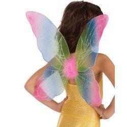 Accessoires de fête, Ailes papillon multicolores 45 cm, 06307, 5,40€