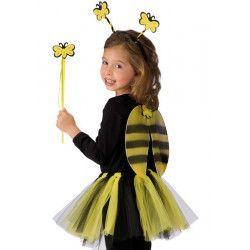 Set abeille ailes baguette serre tête enfant Accessoires de fête 06789