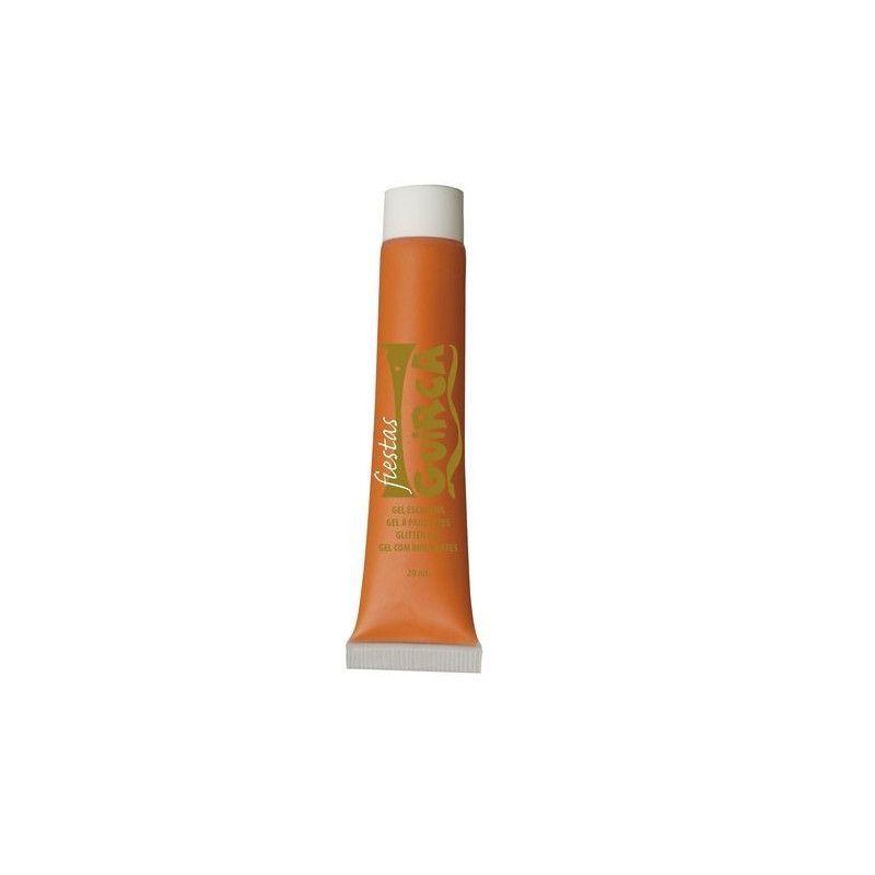 Maquillage gel orange Accessoires de fête 15675GUIRCA