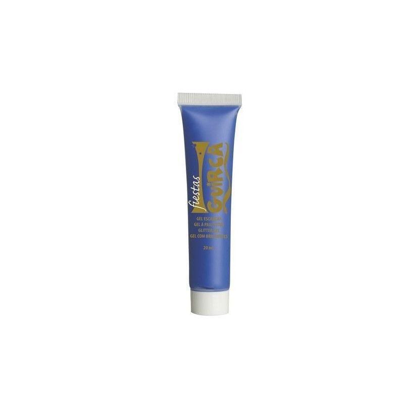 Maquillage gel bleu foncé Accessoires de fête 15679