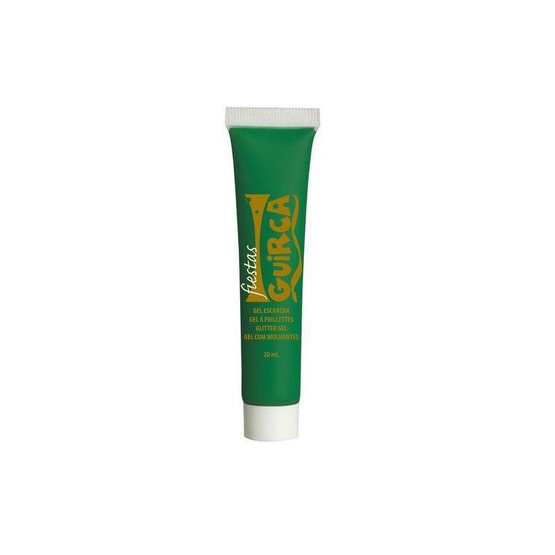 Maquillage gel vert foncé Accessoires de fête 15683