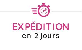 Expedition en 2 jours